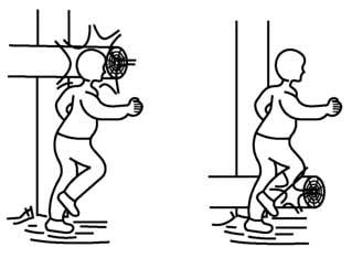 Примеры неожиданных препятствий по ГОСТ Р 52169-2012