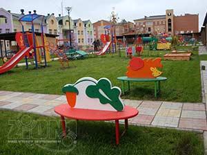 Оформление игровой территории в детском саду