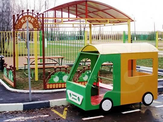 Машина из фанеры для детской площадки | Завод игрового оборудования №1 | 405x540