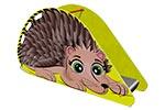 Горка детская для детской площадки «Ежик», эскиз