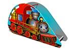 Горка детская для игровых площадок «Паровозик» эскиз
