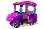 Игровой макет «Машинка-Жук», эскиз 1