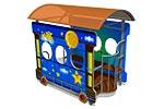 Игровой макет «Вагон-Звездочки», эскиз 1
