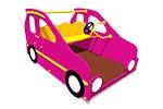 Игровой макет «Машинка Мини», эскиз 1