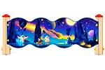 Ограждение детской площадки «Космос У2», эскиз