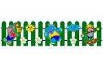 Ограждение детской площадки «Игра», эскиз 1