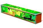 Ящик-скамья для теневых навесов «Маугли», эскиз