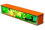 Ящик-скамья для теневых навесов «Маугли М1», эскиз