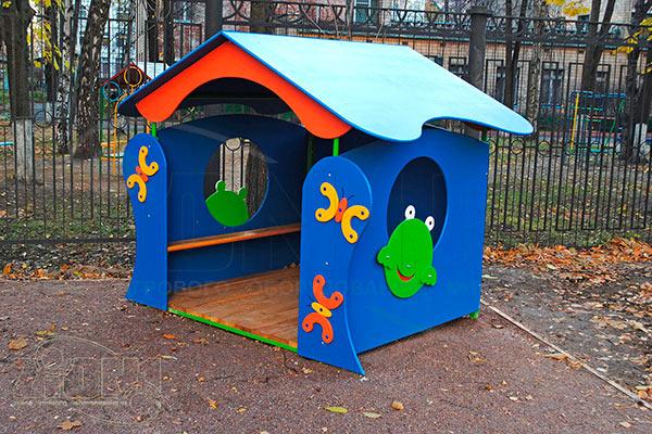 Фото 1 детского игрового домика «Лягушка» эскиз