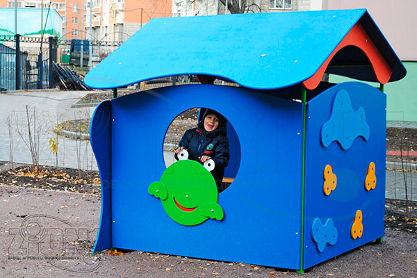 Фото 2 детского игрового домика «Лягушка» эскиз
