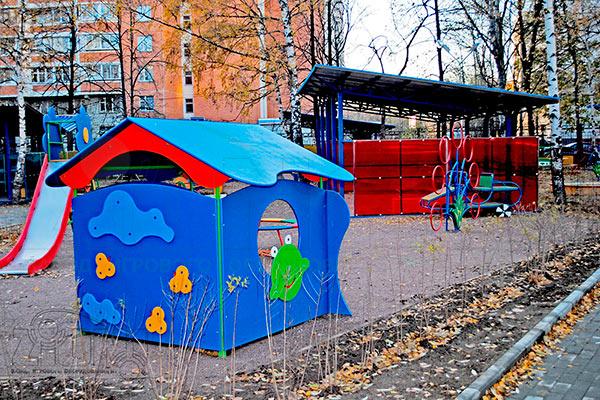 Фото 3 детского игрового домика «Лягушка» эскиз