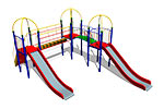Детский игровой комплекс «Снежный барс» эскиз 1