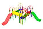Детский игровой комплекс «Медовый барсук» эскиз 1