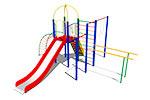 Детский игровой комплекс «Ирбис» эскиз 1