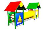 Детский игровой комплекс «Коала» эскиз 1