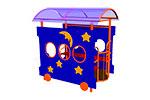 Игровой макет «Вагон-Звездочки» эскиз 1