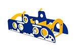 Лабиринт детский «Подводная лодка» эскиз 1