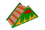 Лесенка-лаз «Вулкан» эскиз 1