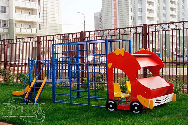 Фото 1 макета-комплекса «Пожарная машина» эскиз