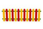 Ограждение детской площадки «Спектр» эскиз 1