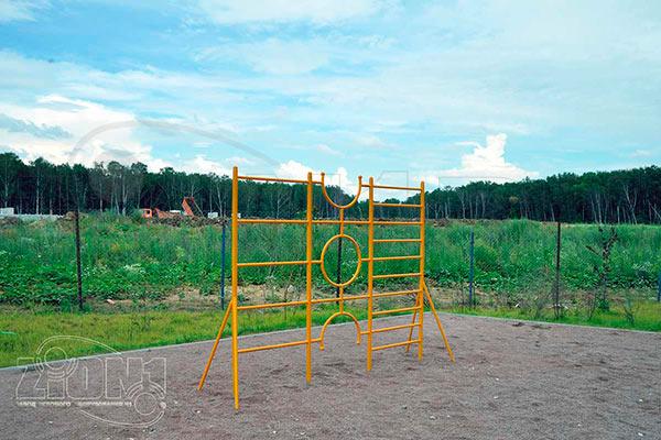 Фото 1 шведской стенки «Малыш» эскиз