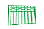 Забор металлический ОЗ-4 эскиз 1