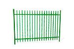 Забор металлический ОЗ-64 эскиз 1