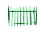 Забор металлический ОЗ-66 эскиз 1