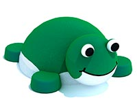 620) Фигуры из резиновой крошки