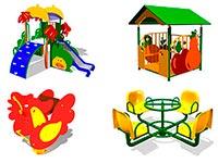 600) МАФ для детских площадок