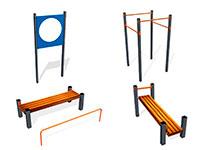 621) Спортивное оборудование для выполнения норм ГТО