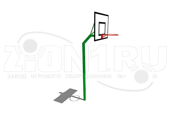 Стойка баскетбольная М1 превью