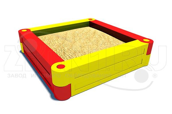Детская песочница пластиковая «Квадрат», превью