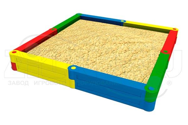 Детская песочница пластиковая «Квадрат 1», превью