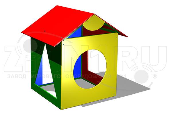 Детский игровой домик «Геометрия» превью