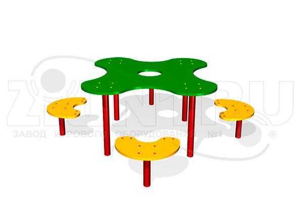 Детский столик «Клякса» превью