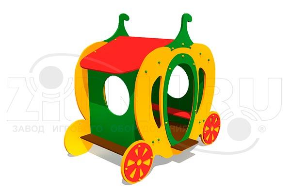 Детский игровой домик «Карета 2», превью