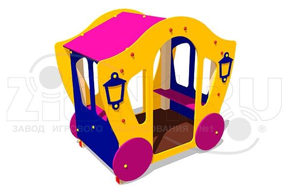 Детский игровой домик «Карета 3», превью