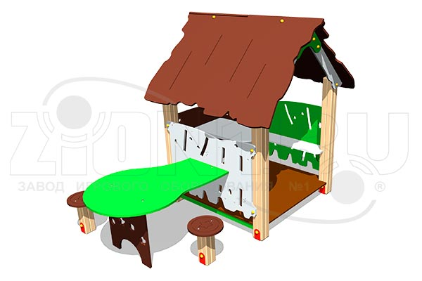 Домик «Хижина со столиком», превью