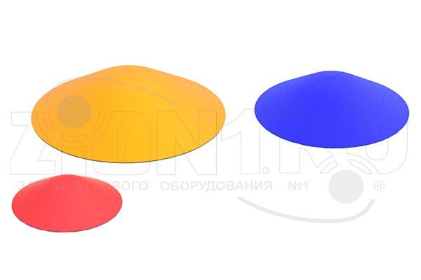 Фигура из резиновой крошки «Холмик одноцветный», превью