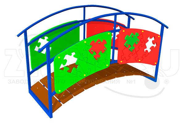 Игровой макет «Мостик-переход» эскиз