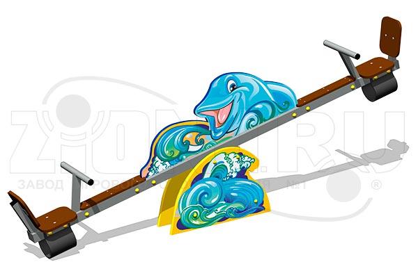 Качалка балансир «Дельфины У1», превью