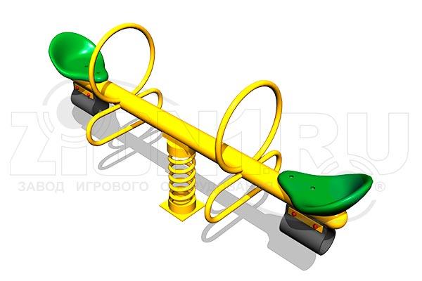 Качалка-балансир на пружине «Стрела», превью