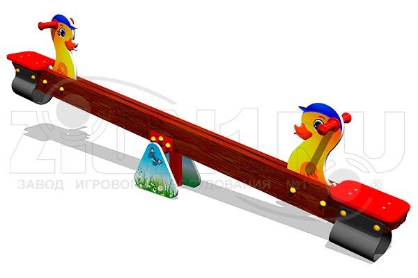 Качели балансир для детского сада «Утята», превью