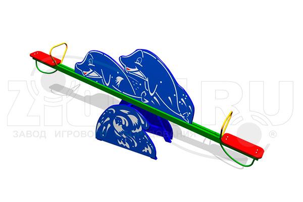 Детская качалка-балансир «Дельфины» превью