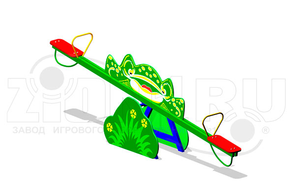 Качалка-балансир «Лягушка» превью
