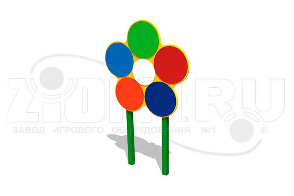 Мишень для бросания мяча «Семицветик» превью
