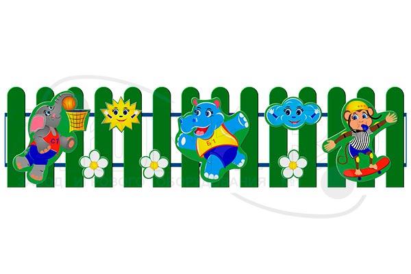 Ограждение детской площадки «Игра», превью
