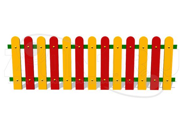 Ограждение детской площадки «Спектр» — превью