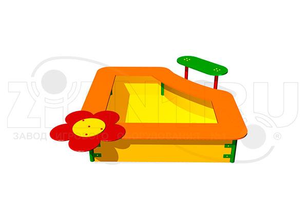 Детская песочница «Фиалка» превью